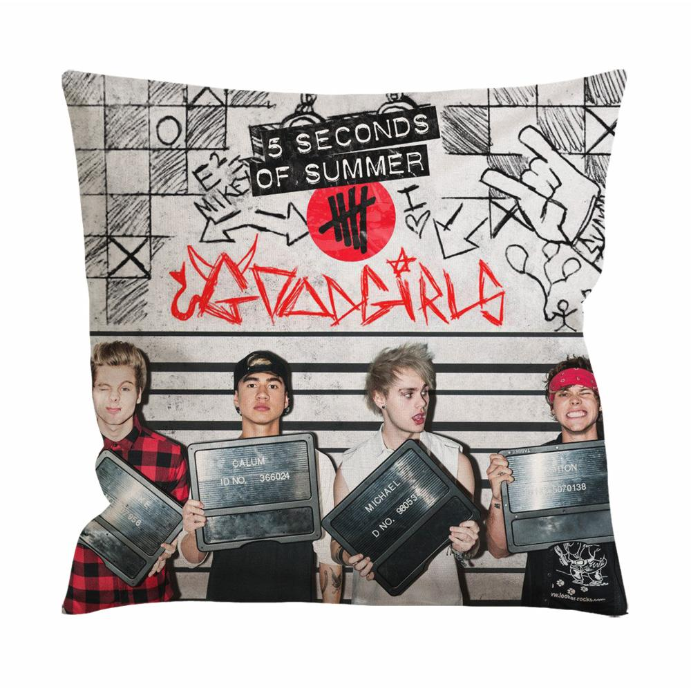 5 Seconds of Summer Cushion Case / Pillow Case