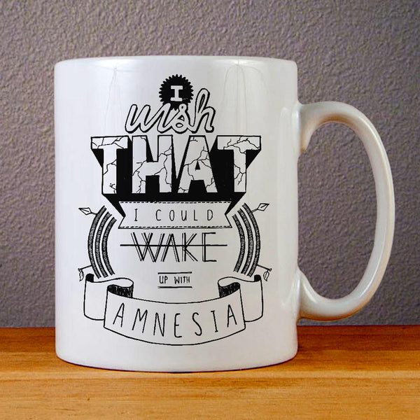 5 Seconds of Summer Amnesia Ceramic Coffee Mugs