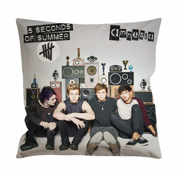 5 Seconds of Summer Amnesia Cushion Case / Pillow Case