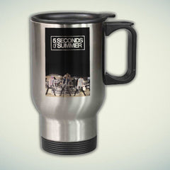 5 Seconds of Summer Band 14oz Stainless Steel Travel Mug