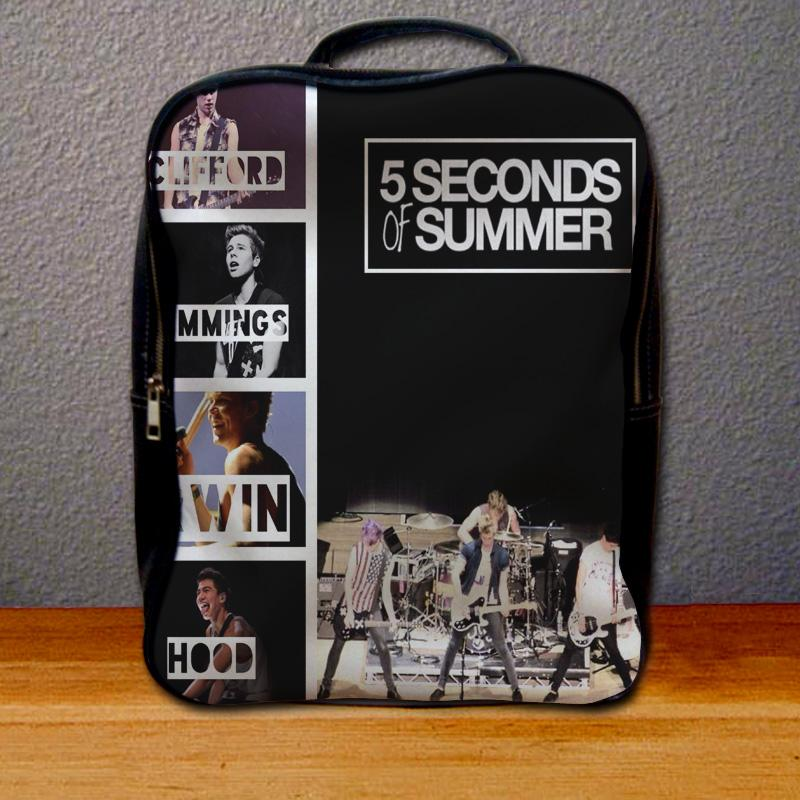 5 Seconds of Summer Band Backpack for Student