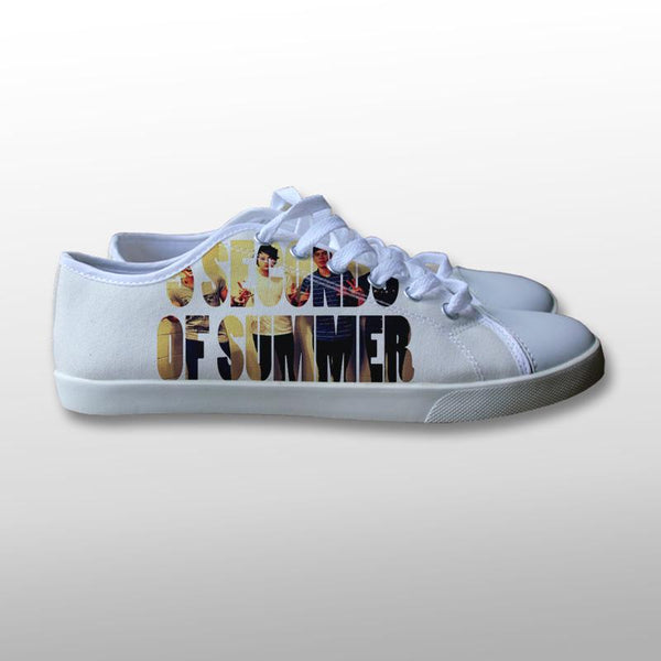 5 Seconds of Summer Band Canvas Shoes