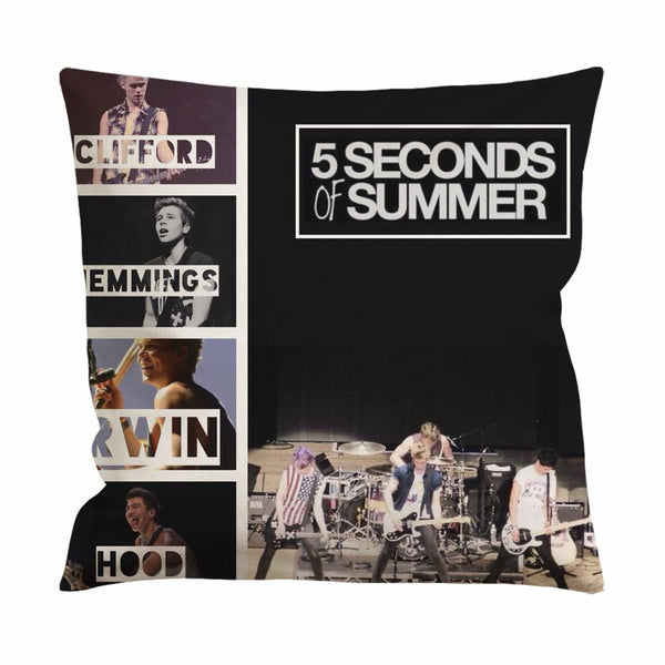 5 Seconds of Summer Band Cushion Case / Pillow Case