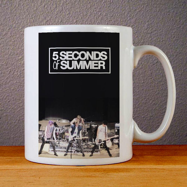 5 Seconds of Summer Band Ceramic Coffee Mugs