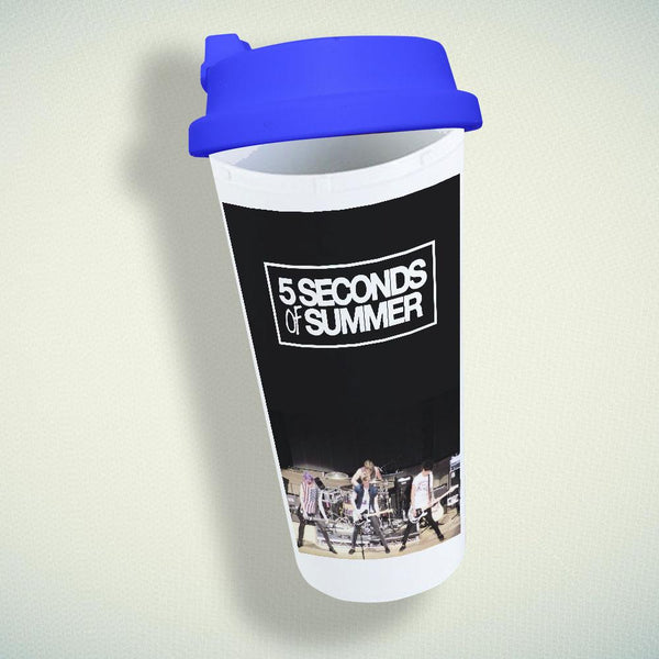 5 Seconds of Summer Band Double Wall Plastic Mug