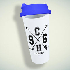 5 Seconds of Summer Calum Hood 5SOS Double Wall Plastic Mug