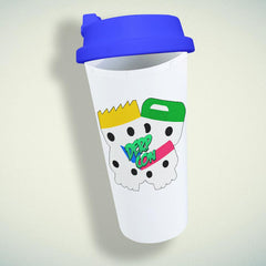 5 Seconds Of Summer Derp Con Double Wall Plastic Mug