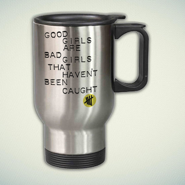 5 Seconds Of Summer Good Girl 14oz Stainless Steel Travel Mug