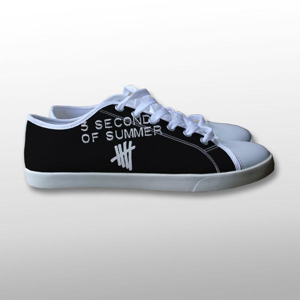 5 Seconds of Summer Logo Canvas Shoes
