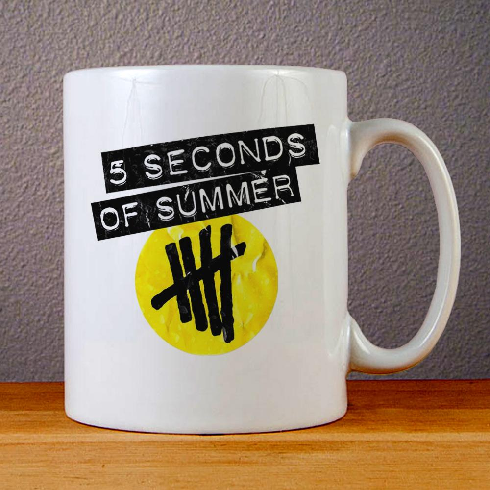 5 Seconds of Summer Logo Ceramic Coffee Mugs