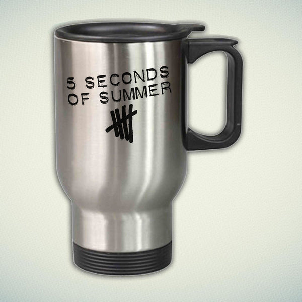 5 Seconds Of Summer Logo 14oz Stainless Steel Travel Mug