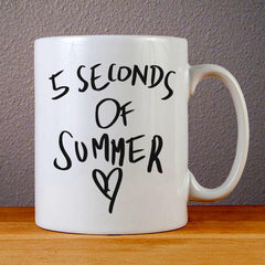 5 Seconds of Summer Love Ceramic Coffee Mugs