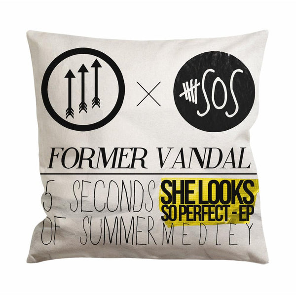 5 Seconds of Summer Medley Cushion Case / Pillow Case