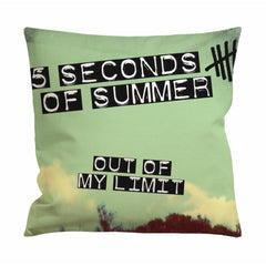 5 Seconds of Summer Out of My Limit Album Cover Cushion Case / Pillow Case