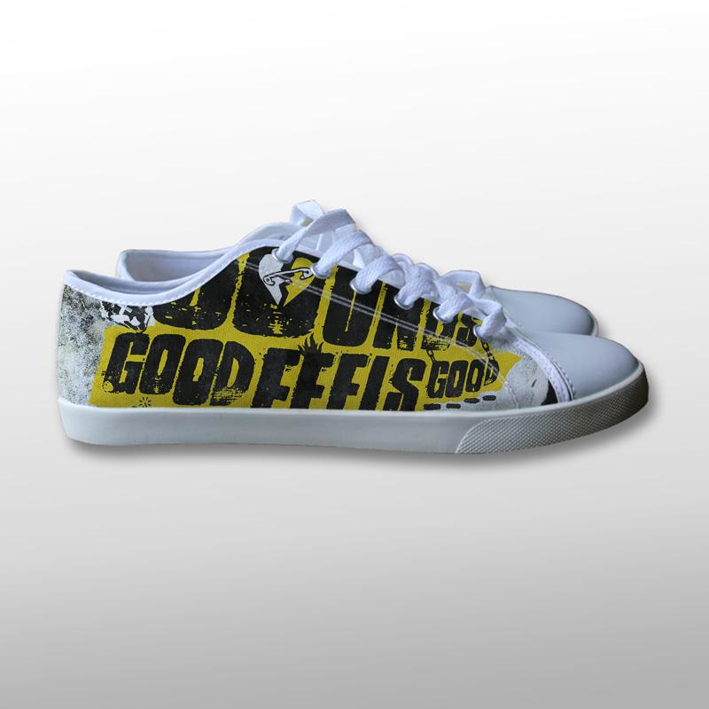 5 Seconds of Summer Sounds Good Feels Good Canvas Shoes