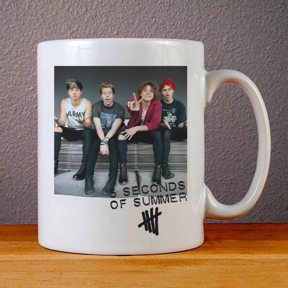 5 Seconds of Summer Tour 2017 Ceramic Coffee Mugs