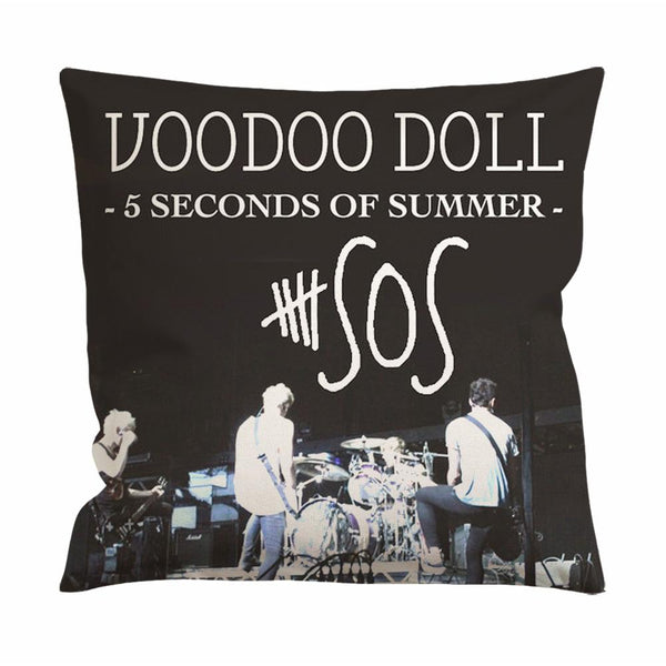 5 Seconds of Summer Voodoo Doll Cushion Case / Pillow Case