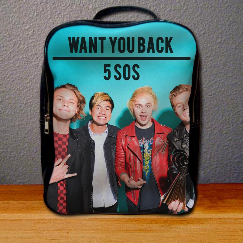 5 Seconds of Summer Want You Back Backpack for Student