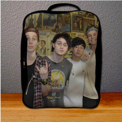 5 Sos 5 Second Of Summer Tour Backpack for Student