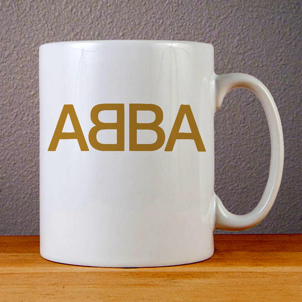 ABBA Logo Ceramic Coffee Mugs