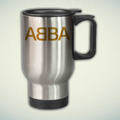 ABBA Logo 14oz Stainless Steel Travel Mug