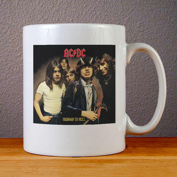 AC DC Highway to Hell Ceramic Coffee Mugs