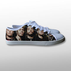 A Day To Remember Band Canvas Shoes
