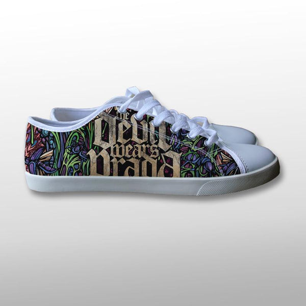 A Day To Remember Devil Wears Prada Canvas Shoes
