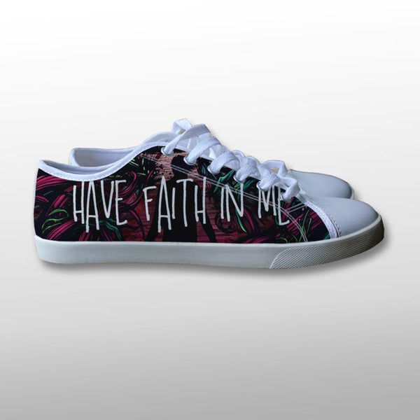 A Day To Remember Have Faith in Me Canvas Shoes