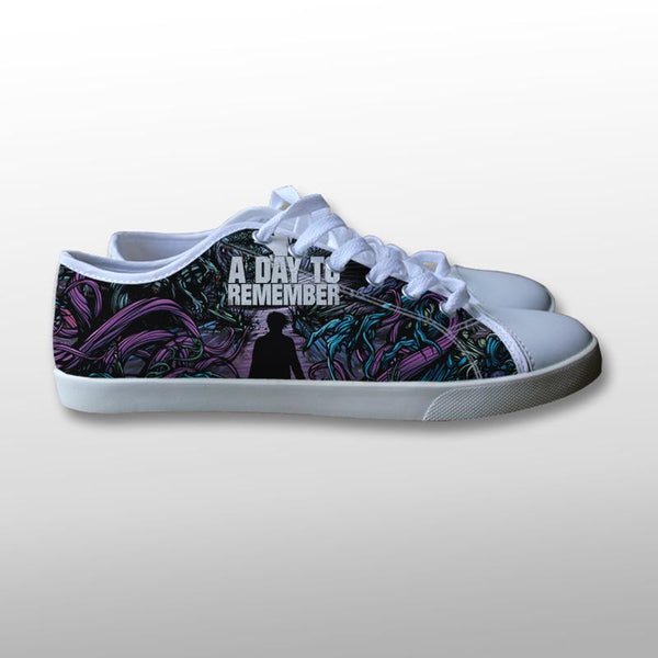 A Day To Remember Homesick Cover Canvas Shoes