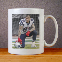 Aaron Hernandez Style Ceramic Coffee Mugs