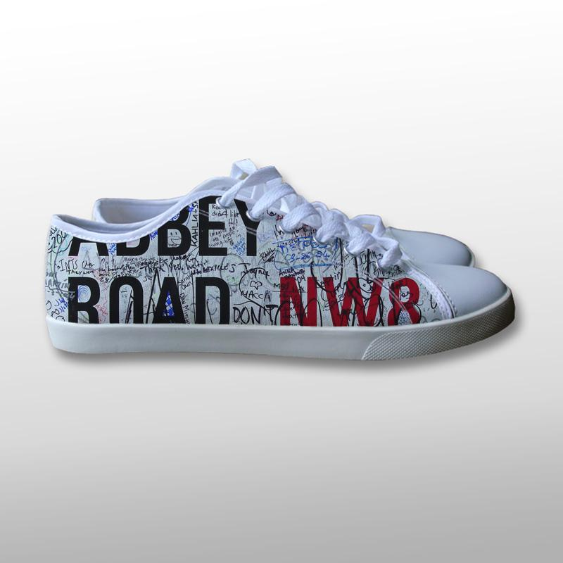 Abbey Road Canvas Shoes