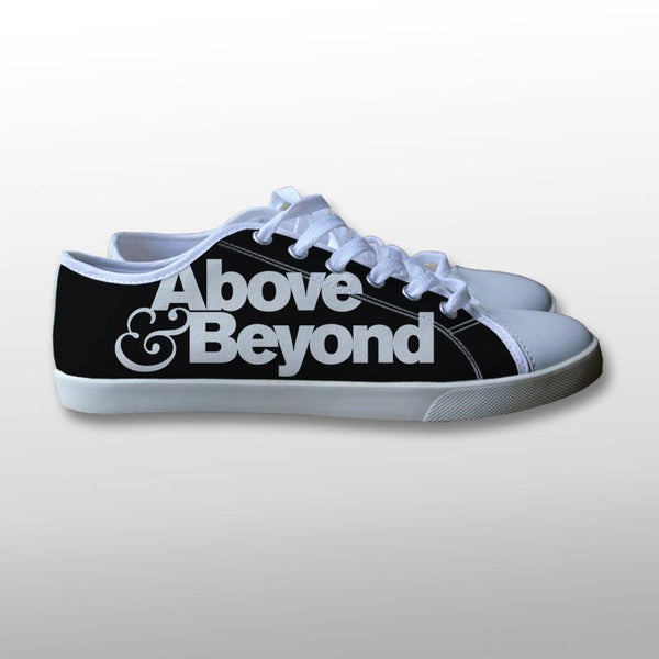 Above and Beyond Logo Canvas Shoes