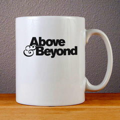 Above and Beyond Logo Ceramic Coffee Mugs
