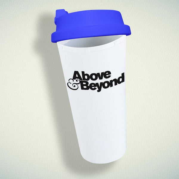 Above and Beyond Logo Double Wall Plastic Mug