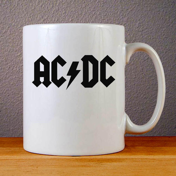 Ac Dc Band Logo Ceramic Coffee Mugs