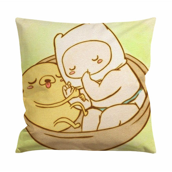 Adventure Time Baby Jake and Finn Cushion Case / Pillow Case