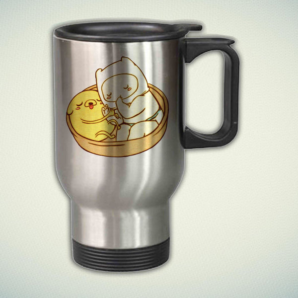 Adventure Time Baby Jake and Finn 14oz Stainless Steel Travel Mug
