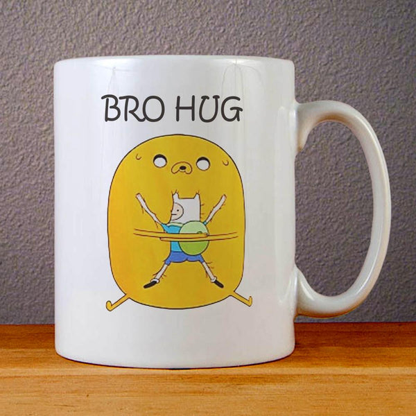 Adventure Time Bro Hug Ceramic Coffee Mugs