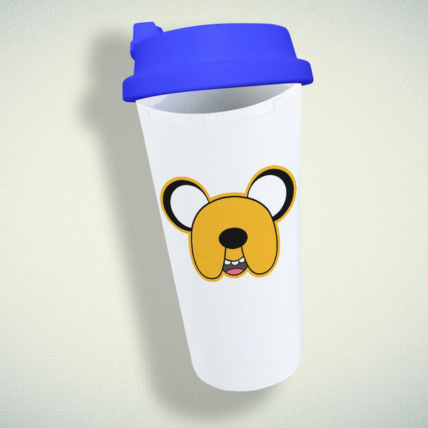 Adventure Time Finn Face Double Wall Plastic Mug