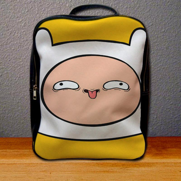 Adventure Time Finnpervy Face Backpack for Student