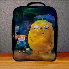 Adventure Time Galaxy Backpack for Student