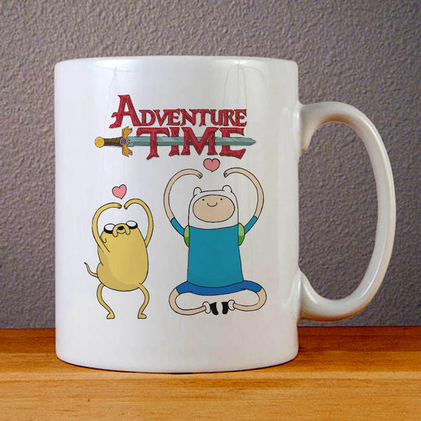 Adventure Time Jake and Finn Ceramic Coffee Mugs