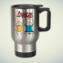 Adventure Time Jake and Finn 14oz Stainless Steel Travel Mug