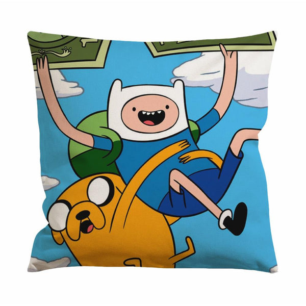 Adventure Time with Finn and Jake Flying Cushion Case / Pillow Case