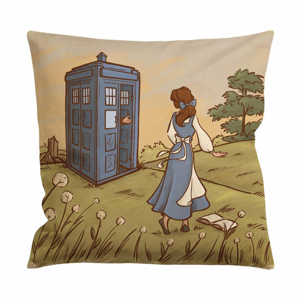 Adventure in the Great Wide Somewhere Cushion Case / Pillow Case