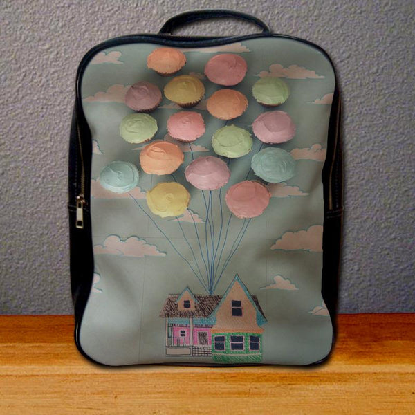 Adventure is Out There Cupcake Art Backpack for Student