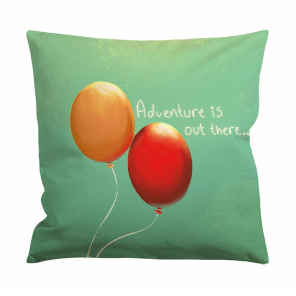 Adventure is Out There Cushion Case / Pillow Case