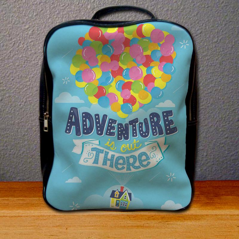 Adventure is Out There Pixar Disney Up Backpack for Student