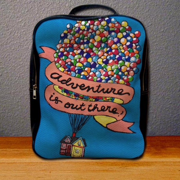Adventure is Out There Pixar Disney Up Movie Backpack for Student